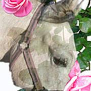 Haggis The Highland Rose Art Print