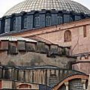 Hagia Sofia Close Up Art Print