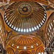 Hagia Sofia Interior 02 Art Print