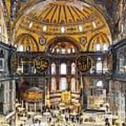 Hagia Sofia Interior 35 Art Print