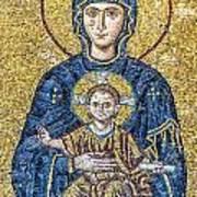 Hagia Sofia Mosaic 05 Art Print