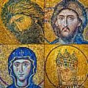 Hagia Sofia Mosaics Art Print