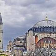 Hagia Sophia 05 Art Print