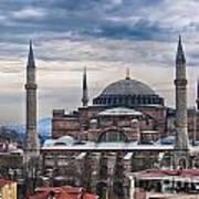 Hagia Sophia 19 Art Print