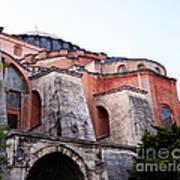Hagia Sophia Buttresses Art Print