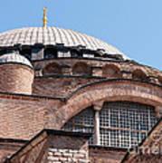 Hagia Sophia Curves 01 Art Print