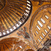 Hagia Sophia Dome 01 Art Print
