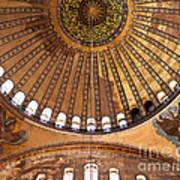 Hagia Sophia Dome 02 Art Print
