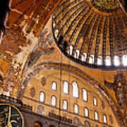 Hagia Sophia Dome 03 Art Print