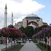 Hagia Sophia I - Istanbul - Turkey Art Print