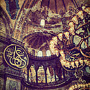 Hagia Sophia Lighting Art Print