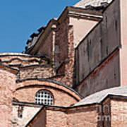 Hagia Sophia Walls 01 Art Print