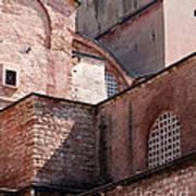 Hagia Sophia Walls 02 Art Print