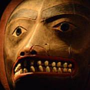 Tlingit Mask Art Print