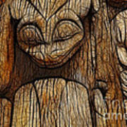 Haida Totem Print by Bob Christopher
