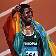 Haile Gebrselassie Art Print