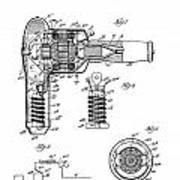 Hair Dryer 3 Patent Art 1931 Art Print