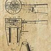Hair Dryer Patent Art 1911 Art Print