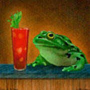 Hair Of The Frog... Art Print
