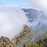 Haleakala Mists Art Print