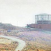 Haleakala Observatories Art Print
