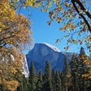 Half Dome In Yosemite Art Print