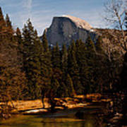 Half Dome Spring Art Print by Bill Gallagher
