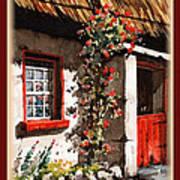 Wexford  Half Door Art Print