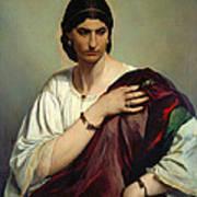 Half-length Portrait Of A Roman Woman Art Print