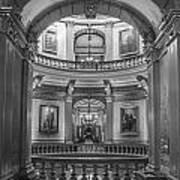 Hall In Michigan State Capital Art Print