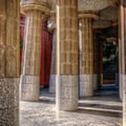 Hall Of 100 Columns Art Print