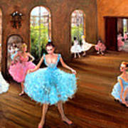 Hall Of Dance Print by Graham Keith