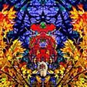 Hall Of The Color King Art Print