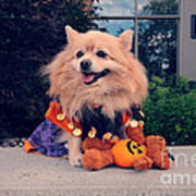 Halloween Dog Art Print