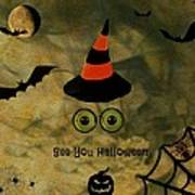 Halloween Eyes Art Print