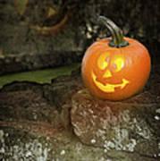 Halloween Jack O Lanterns Art Print