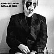 Halloween Let Down Art Print