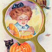 Hallowe'en Magic - Lighting Art Print