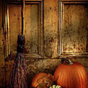 Halloween Night Art Print by Sandra Cunningham