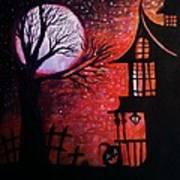 Halloween Retreat Art Print by Denisse Del Mar Guevara
