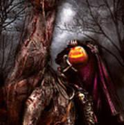 Halloween - The Headless Horseman Art Print