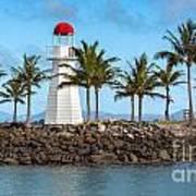 Hamilton Island Lighthouse Art Print by Shannon Rogers
