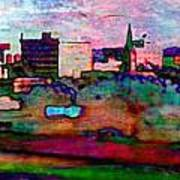 Hamilton Ohio City Art 10 Art Print