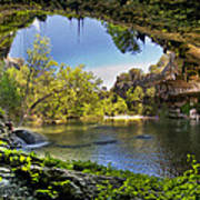 Hamilton Pool Print by Lisa  Spencer