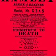 Hamlet Playbill Art Print