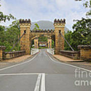 Hampden Bridge Kangaroo Valley Art Print