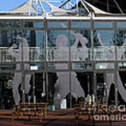 Hampshire County Cricket Glass Pavilion Art Print