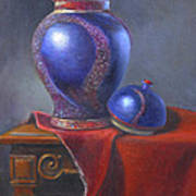 Hand Make Vase  Art Print by Rich Kuhn