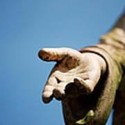 Hand Of Christ. Art Print