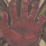 Hand Of God - Death Art Print